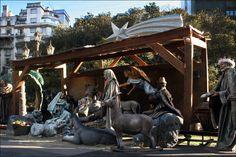 nativity scenes pictures | Plaza del Congreso, Buenos Aires | Steve's Genealogy Blog
