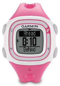 "(CLICK IMAGE TWICE FOR DETAILS AND PRICING) Garmin Forerunner 10 Pink and White GPS Running Watch. ""Garmin Forerunner 10 Pink and White Brand New Includes One Year Warranty, The Garmin Forerunner 10 is a lightweight comfortable GPS running watch that tracks your distance, pace and calories. When you complete each mile, Forer.. . See More Runners at http://www.ourgreatshop.com/Runners-C325.aspx"