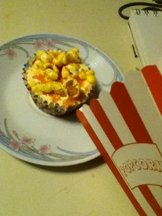 the carmel corn cupcake. the mixture of buttery, salty sweetness