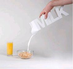 product design, breakfast, milk bottles, creativ milk, milk cartons, milk cans, packag design, mornings, milk packag