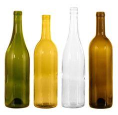 Wine bottle types #wine