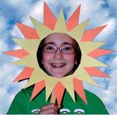 sunshine mask craft