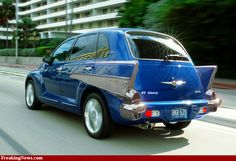 LOVE this PT Cruiser.  Part of me wants to do this to mine lol.