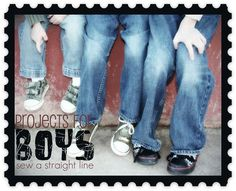 Over 80 sewing ideas, patterns, tutorials and inspiration for boys.  Plus parties and activities.