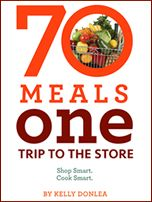 70 Meals, One Trip to the Store $19.99 Sounds good to me!! :)
