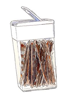 tic tac organization for bobby pins