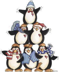 penguin pyramid