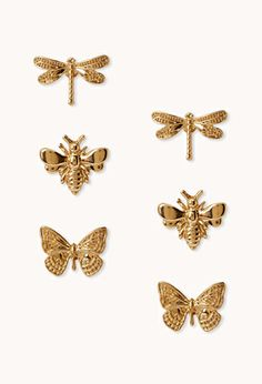 Quirky Bug Stud Set   FOREVER21 - 1000074144