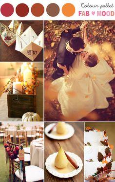 Autumn Wedding Board