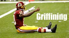 """The entire Redskins team should now do the """"Griffining"""" for every Touchdown celebration!"""