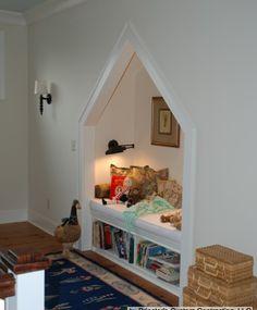 dream, nook, kid room