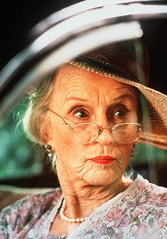 Jessica Tandy... Driving Miss Daisy 1989 Best Picture and Best Actress
