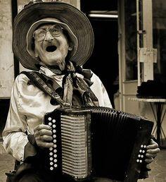 Happy people sing
