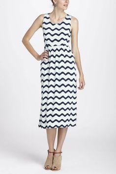 waves midi dress