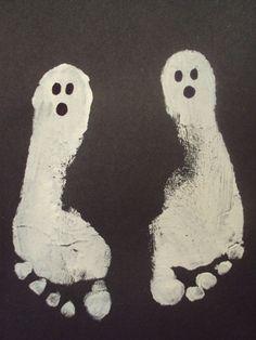 ghost foot prints