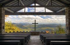 Pretty Place Chapel - Blue Ridge Mountains SC Photograph  - Pretty Place Chapel - Blue Ridge Mountains SC Fine Art Print