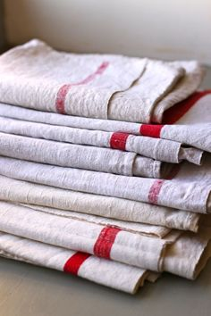 antique french linens