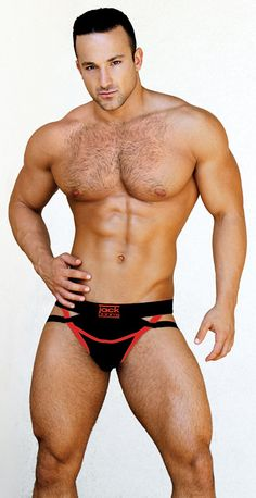 Jack Adams Ranger Fly X Jockstrap |  Medium - Black/White