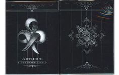Black Artifice Playing Cards. $59.99. #poker #games #magic #playing cards