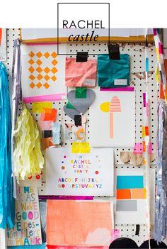 Adore Home magazine - Blog - Sneak peek: Rachel Castle'sstudio