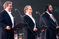 The Three Tenors.....Pavarotti, Carreras, Domingo