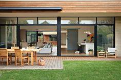 beaches, indoor outdoor, beach houses, dream hous, outdoor spaces, bellarin beach, hous renov, architectur idea, modern beachhouse