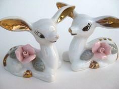 Vintage Deer Figurines