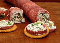 Salami and Cream Cheese Roll-ups | PiX FiZ