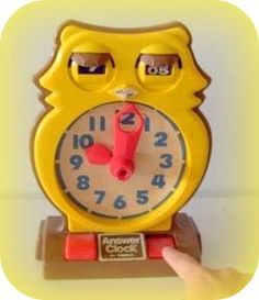 owl clock, school
