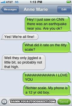 funny texts, laugh, titti scale, giggl, funni, hilari, funny text messages, autocorrect, auto correct