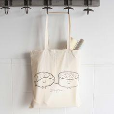 "Image of Bolsa de tela ""Sushis"" www.mrwonderfulshop.es"