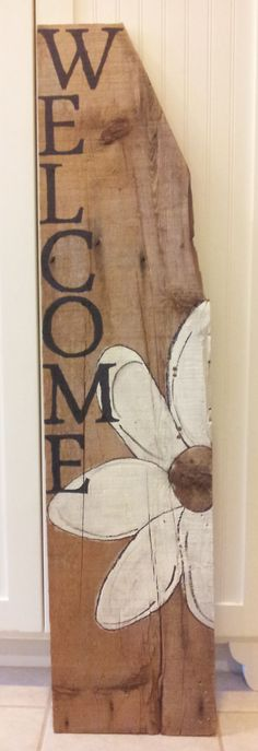 #reclaimed #wood welcome sign