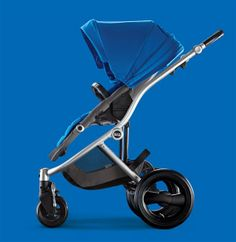 We're getting inspired by Britax's Sky Blue Affinity Stroller. #BRITAXStyle
