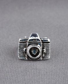 Zad Snapshot Camera Ring in Silver