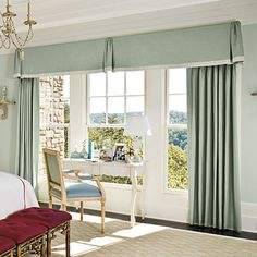 color schemes, window curtain, bedroom decorating ideas, decorating bedrooms, master bedrooms, window treatments, hous, bedroom windows, style guides