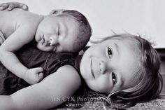 CUTEST big sister and newborn brother pictures!! JEN CYK PHOTOGRAPHY