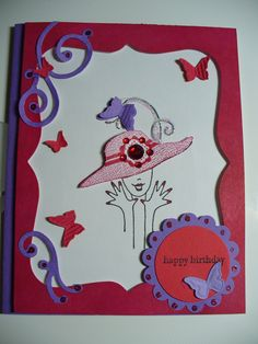 Red Hat Ladies card - will try to make