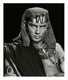 "Yul Brynner in ""The Ten Commandments""  (1956)"