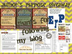 Freebie... authors purpose!