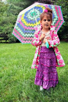 Skirt Week Guest Tutorial: Little Pink Monster's tiered knit maxi