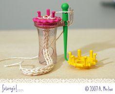 futuregirl craft blog : Clover Wonder Knitter