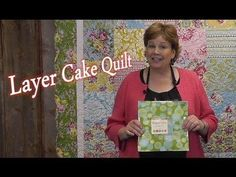 Layer Cake Quilt - Quilting Made Simple by the Missouri Star Quilt Company layer cake quilts, missouri star quilt company, quilt video, layer cakes, missouri star quilts, missouri star quilt layer cake, quilt tutorials, missouri quilt, quilt compani