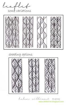 leaflet pattern