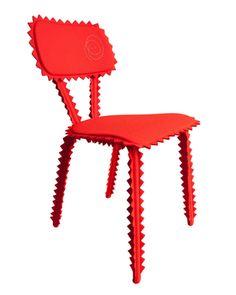 roeljan elsinga, chair whimsi, red, furi, design roeljan, chairs, seat, amaz chair, furnitur design