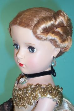 Evergreen and Roses Doll - 20 Madame Alexander