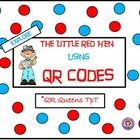 "Students love learning with ""QR Codes!"" Check out our QR Codes (made in safe share) to explore the world of fact or fiction with the Little Red Hen..."