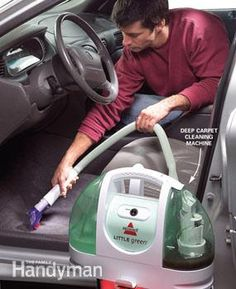 how to get road salt out of car carpets