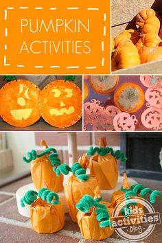7 Easy Pumpkin Activities - Kids Activities Blog