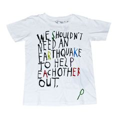 Earth Tee White now featured on Fab.