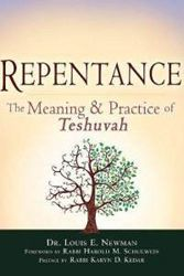 "In Repentance: The Meaning and Practice of Teshuva, Dr. Louis E. Newman, a professor of religious studies at Carleton College, begins by identifying teshuvah (repentance) as one of the ""central religious-moral"" teachings of Judaism, and takes a rigorous analytical approach to understanding what teshuvah is and how it is done."